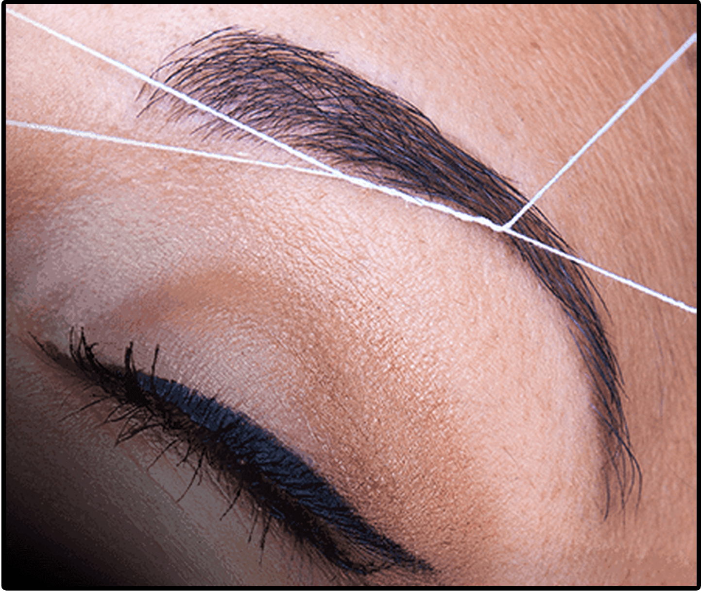 Eyebrow Threading Technique