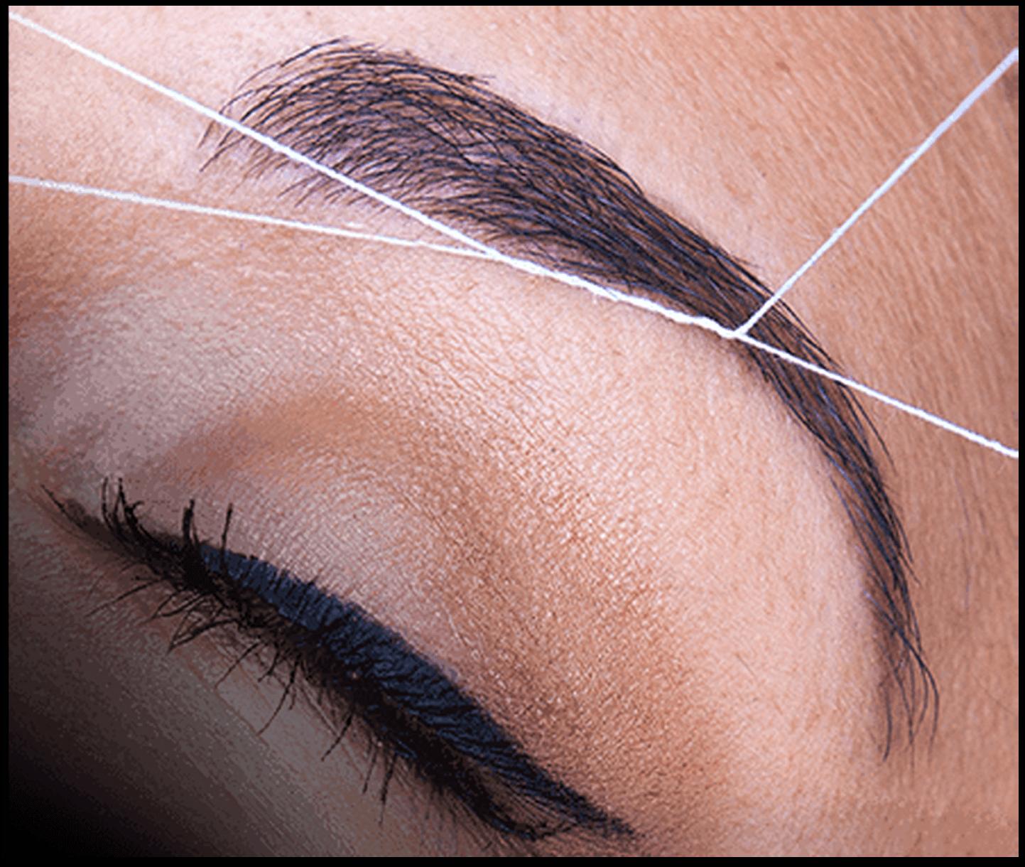 Eyebrow Threading Technique