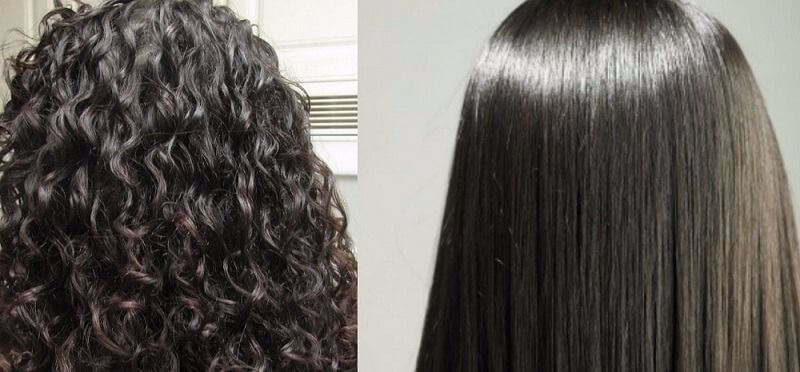 Permanent Hair Straightening Service